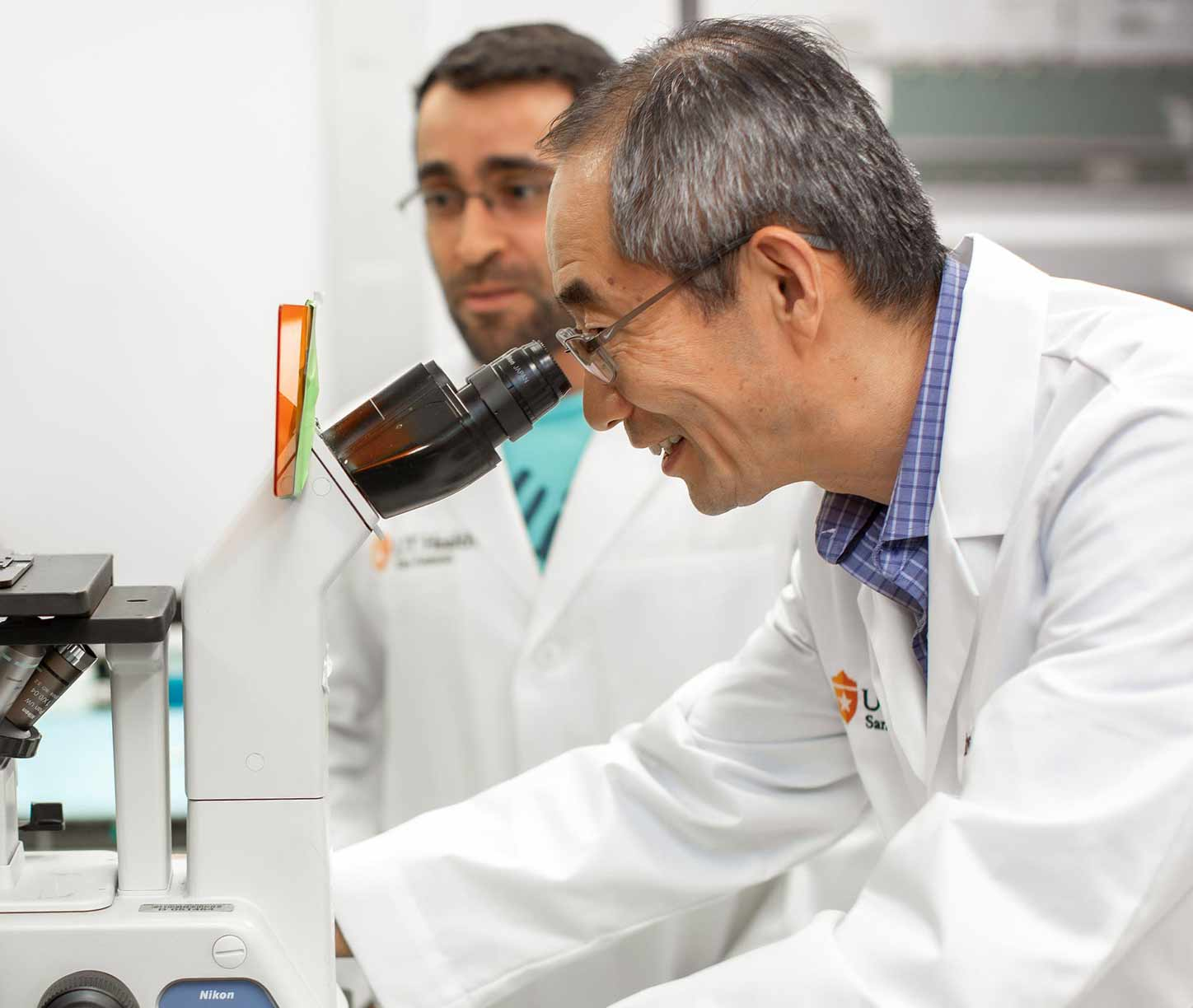 researchers at UT Health San Antonio MD Anderson Cancer Center