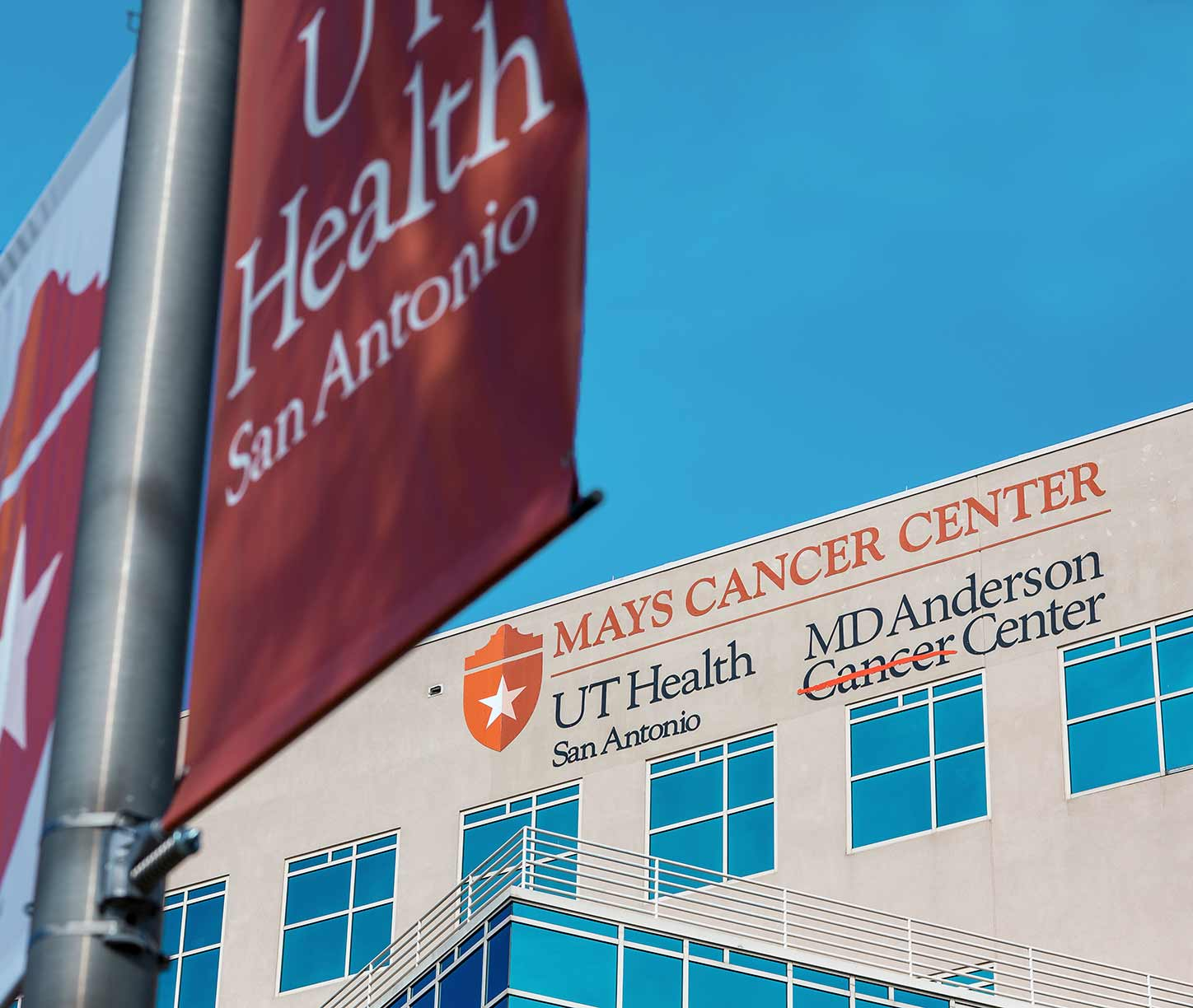 Photo of Mays Cancer Center